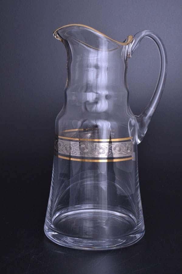 Идеал Панто Кристалайт Графин Kvetna 1,5 л из стекла