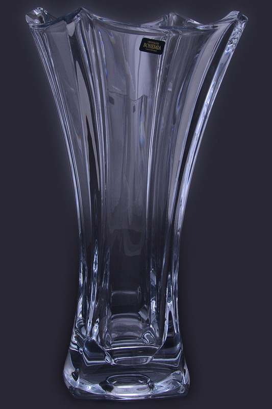 COLOSSEUM Ваза для цветов Crystalite Bohemia 35 см