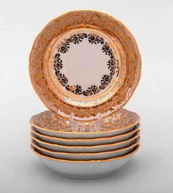 Лист бежевый Набор салатников Bavarian Porcelain 13 см