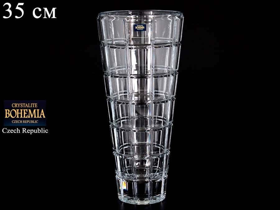 CAMPOS Ваза для цветов Crystalite Bohemia 35 см 9966