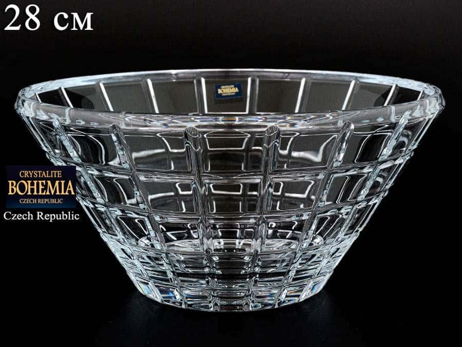 CAMPOS Ваза для фруктов Crystalite Bohemia 28 см