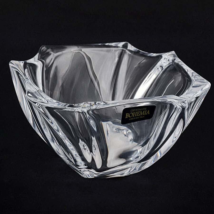 NEPTUNE Салатник Crystalite Bohemia 13 см из стекла 32285