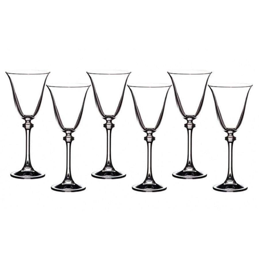 ALEXANDRA Набор бокалов для вина Crystalite 185 мл