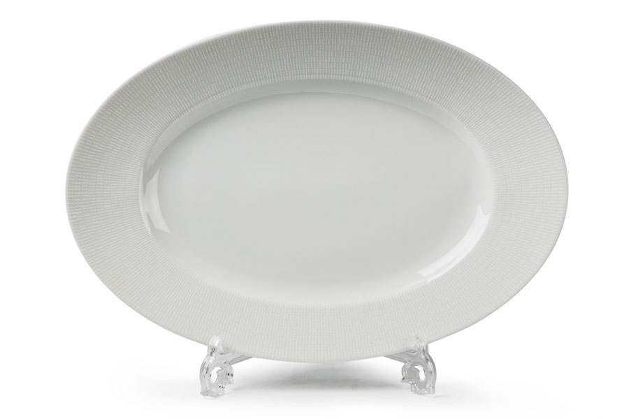 ZEN Asymetrie Blanc 2161 Блюдо Овальное Тунис