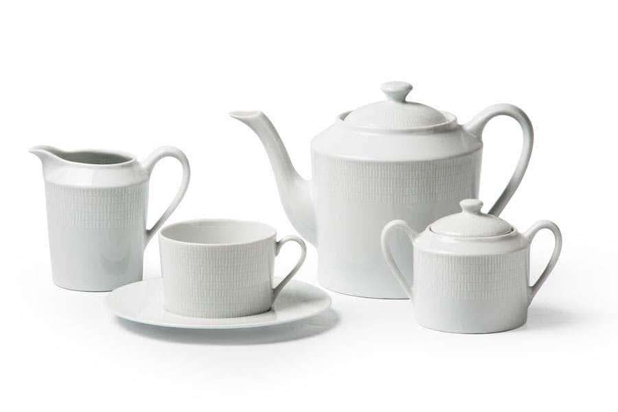ZEN Asymetire Blanc 2161 Сервиз Чайный 15 Предметов Тунис