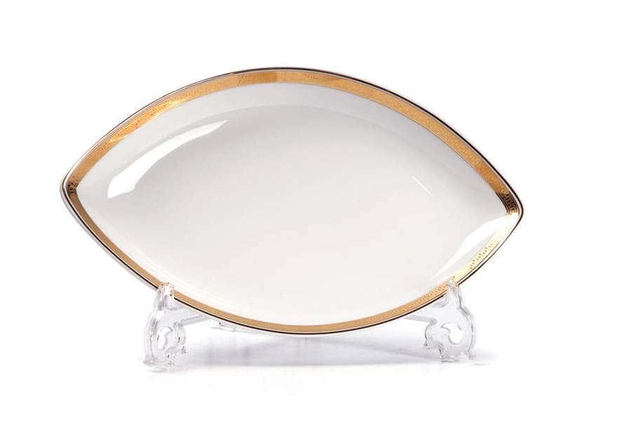 KYOTO 1555 Блюдо овальное Д 25 х 14,5 см  золото  Saint Germain Or Тунис