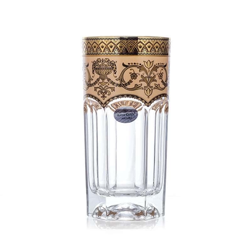 Провенза Империя Набор стаканов для воды Астра Голд 6 шт. 370 мл.