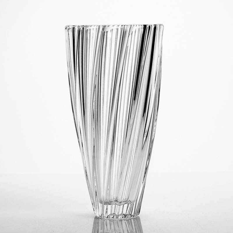 SCALLOP Ваза 30 см для цветов Кристалайт Богемия 17549