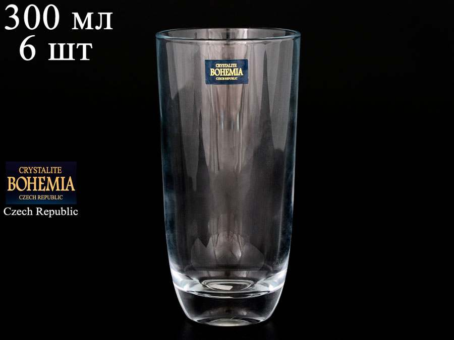 TUMBLER Набор стаканов для воды Crystalite 300 мл