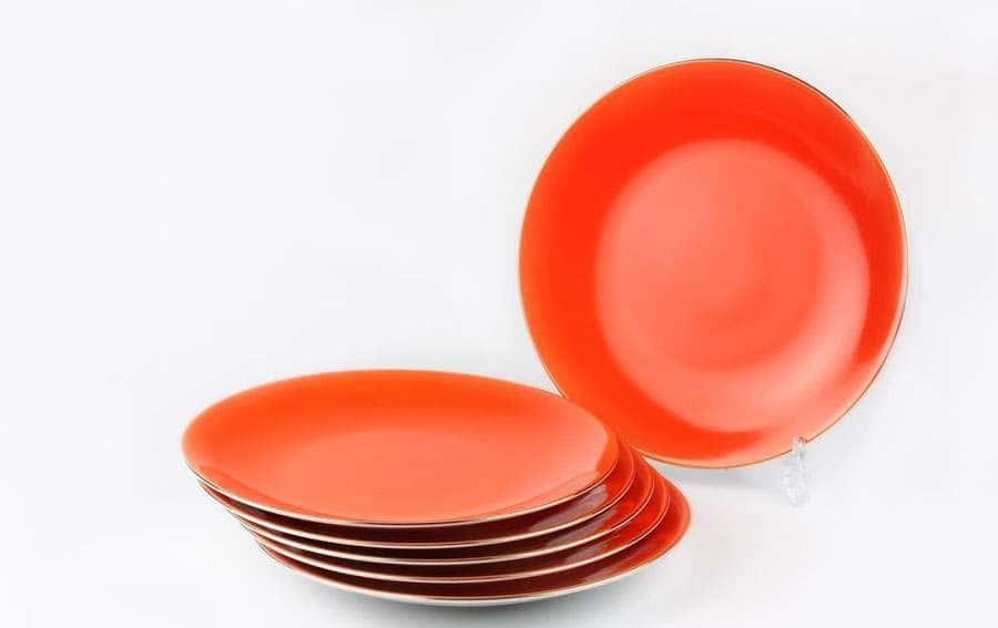 MONALISA 3127 Rainbow Or Набор дессертных тарелок 21 см 6 шт Тунис