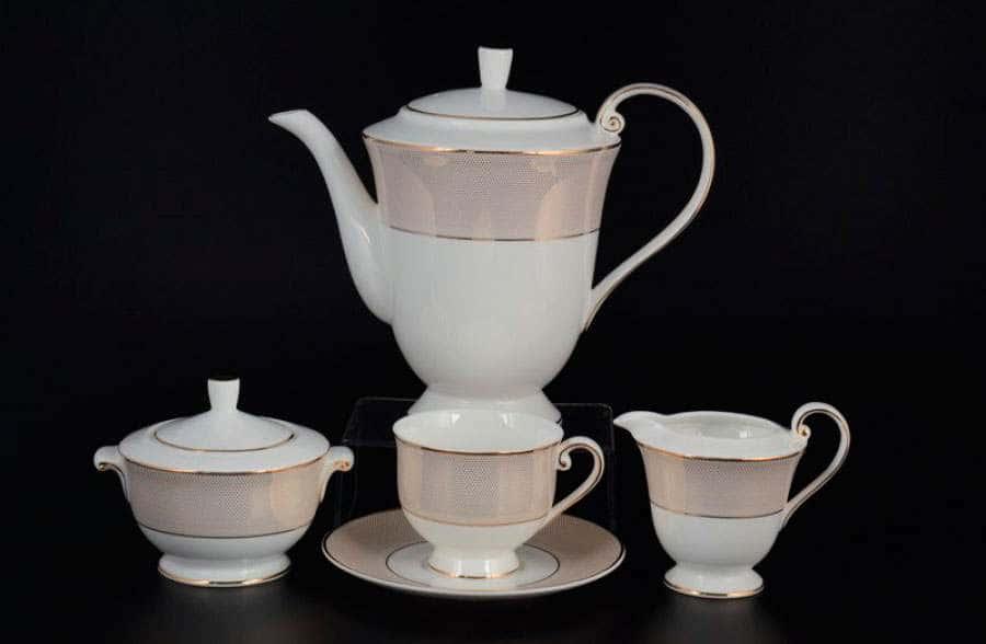 Симфония gold Чайный сервиз Royal Classics на 6 персон 17 предметов