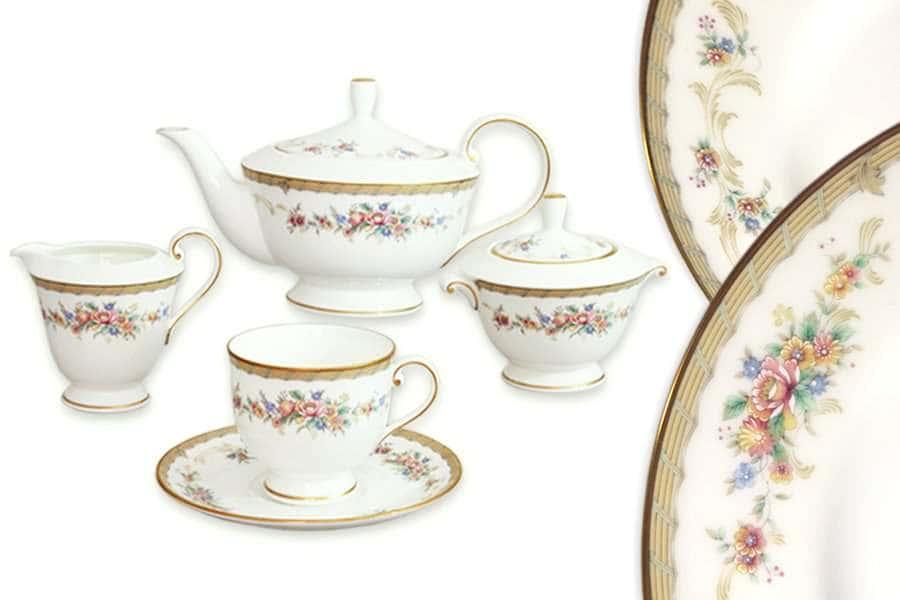 Чайный сервиз 17 предметов на 6 персон Наслаждение Narumi Индонезия