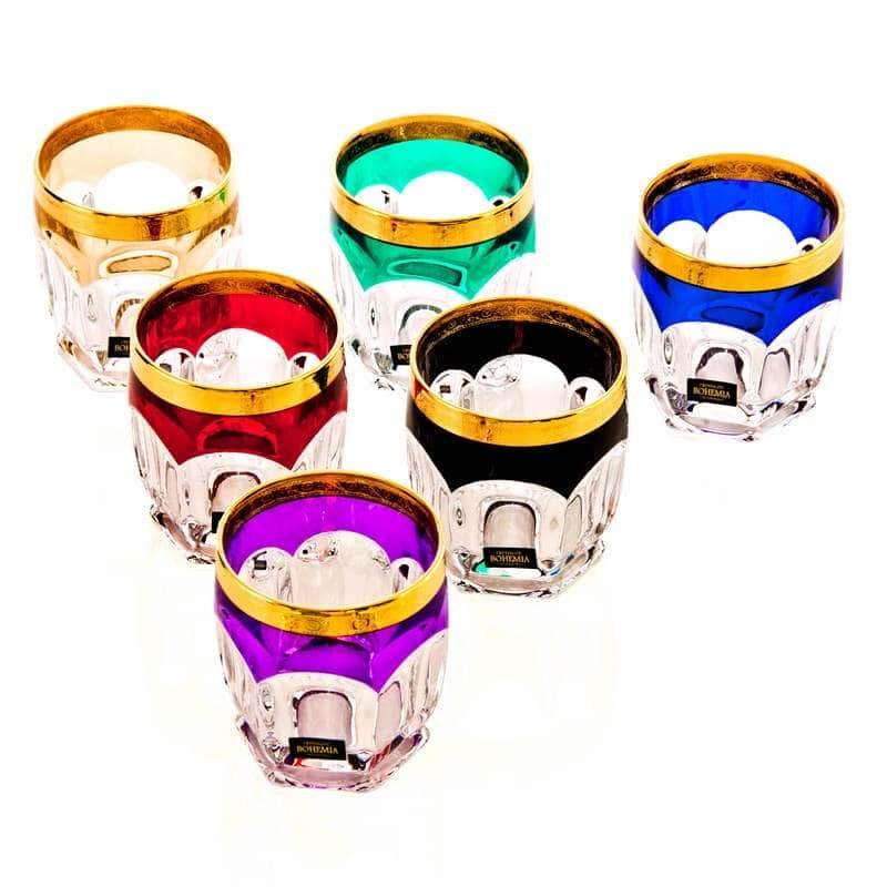 Сафари-Колорс Набор стаканов Crystalite 250 мл.6 шт