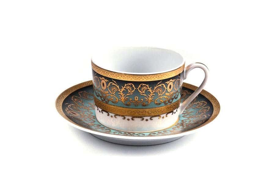 MIMOSA 1647 Prague Degrade Набор кофейных пар 6 шт 12 предметов Тунис
