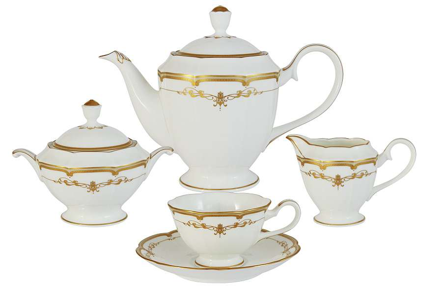 Чайный сервиз из 17 предметов на 6 персон Ожидание Narumi  Индонезия