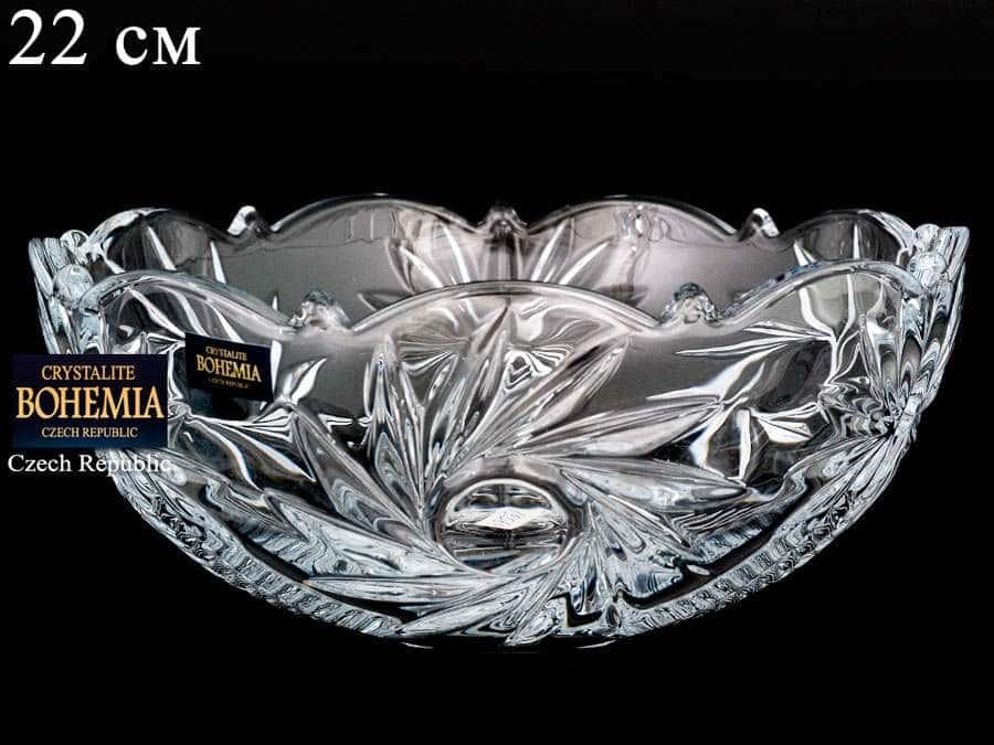 PINWHEEL 99030 Конфетница Crystalite Bohemia 22 см