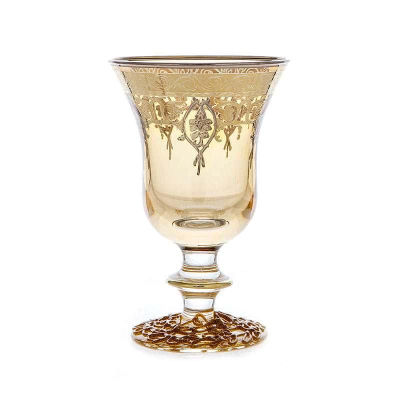 Алессия Желтая Набор бокалов для вина Decotech 250 мл. 6 шт.
