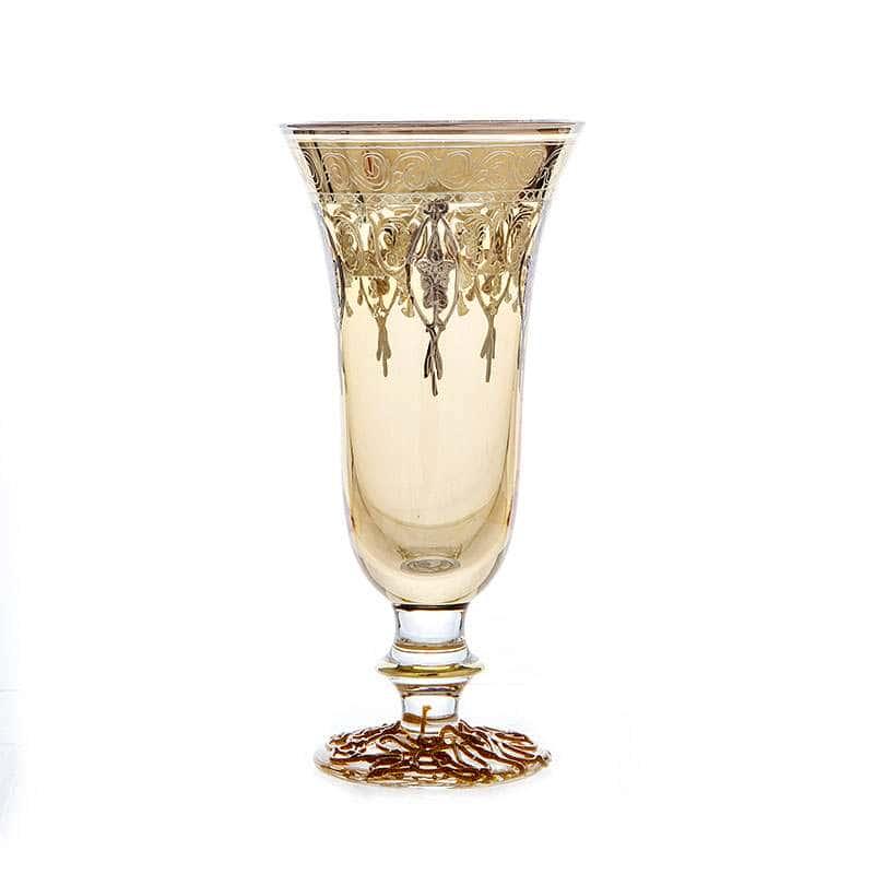 Алессия желтая Набор фужеров для шампанского Декотэч 250 мл.6 шт.