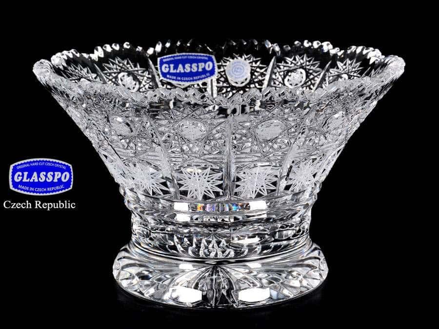 Glasspo Ваза для конфет из хрусталя 16 см