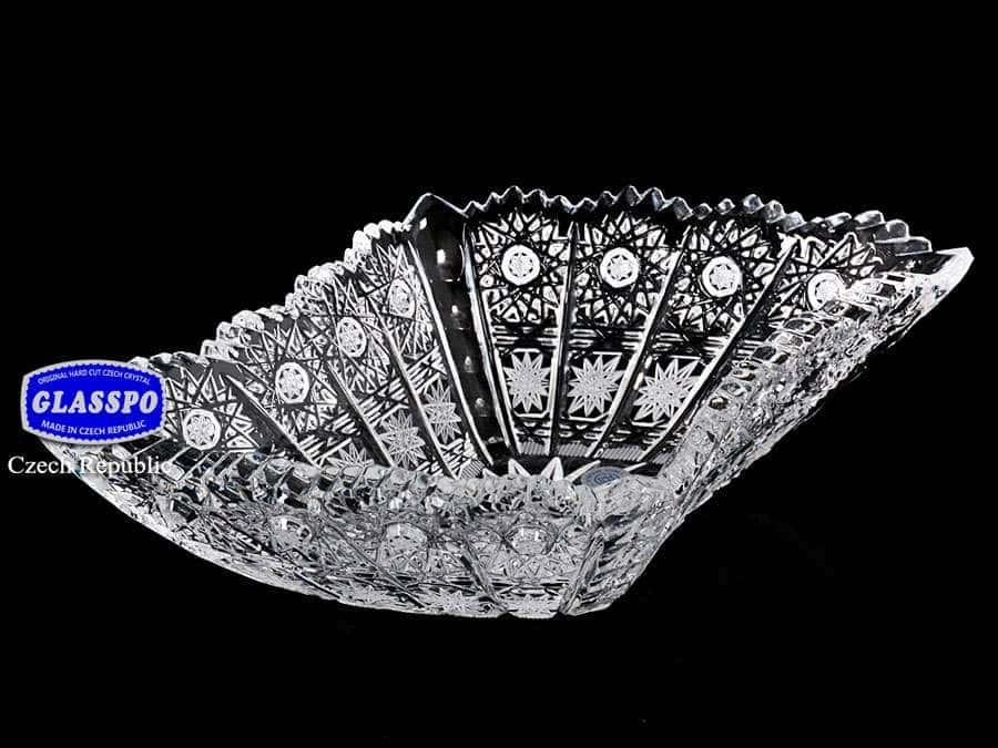 Glasspo Ваза для конфет 20 см  из хрусталя