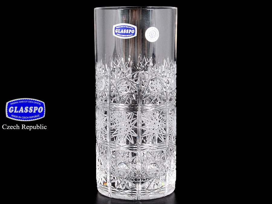 Glasspo  Набор стаканов для воды 350 мл из хрусталя