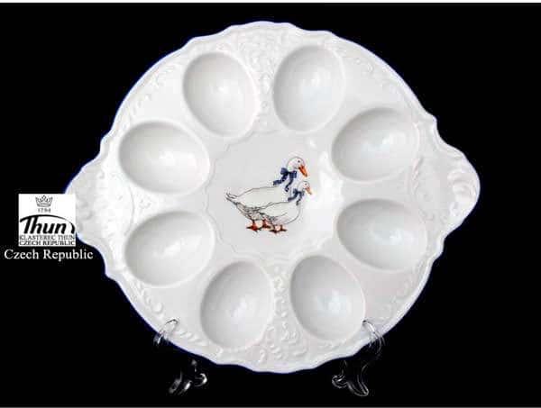 Гуси Бернадотт Поднос для яиц Thun 25 см