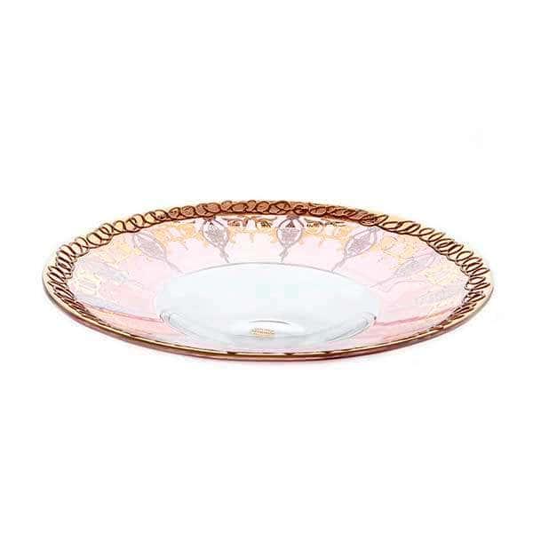 Алессия Блюдо круглое из стекла Decotech 35 см. Италия