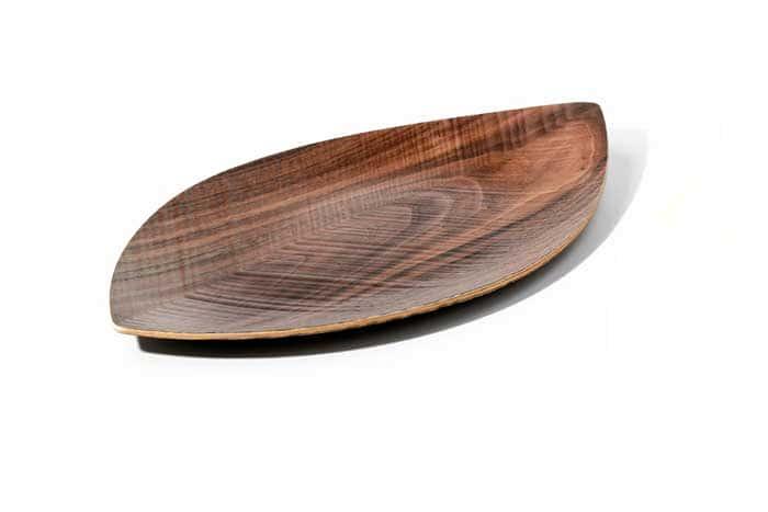 Орех Сервировочная тарелка Legnoart, деревянная из Италии