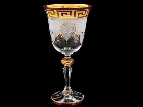 Кристина Костка R-G фон Набор бокалов для вина Bohemia Crystal 220 мл