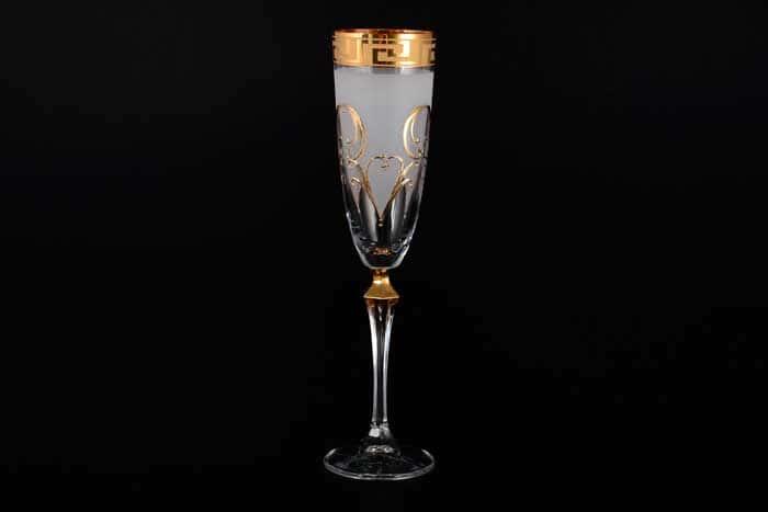 Элизабет Костка Набор фужеров для шампанского Bohemia Crystal 200 мл