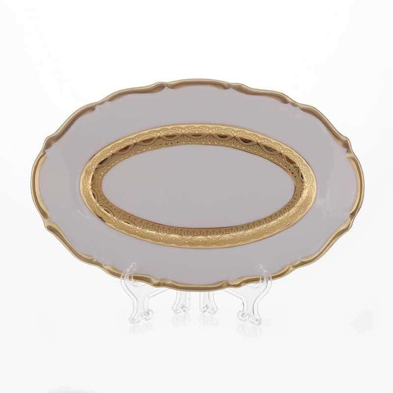 Лента золотая матовая Селедочница Bavarian  Porcelain