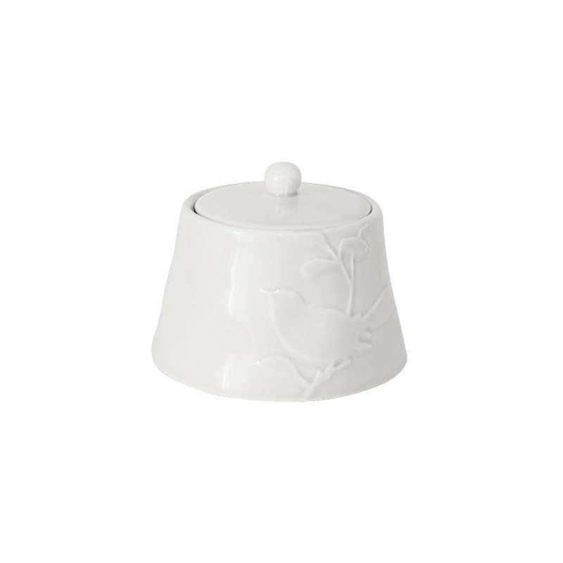 Птицы кремовая Сахарница из керамики SantaFe Китай 0,45 л.