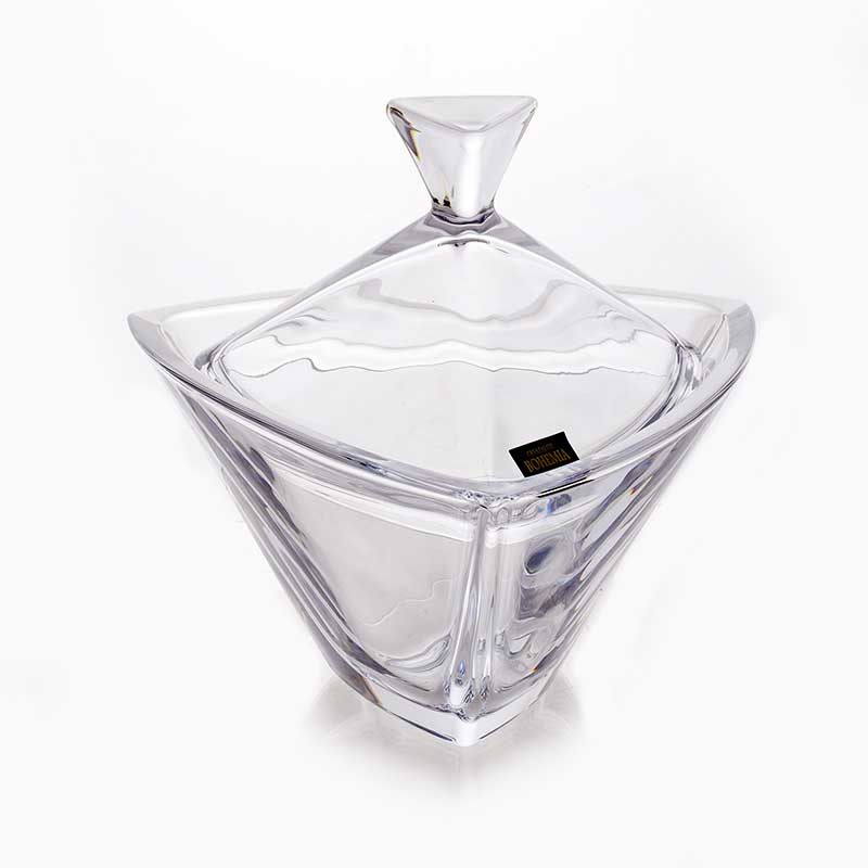 Триангл Доза Мармеладница Crystalite Bohemia18 см.