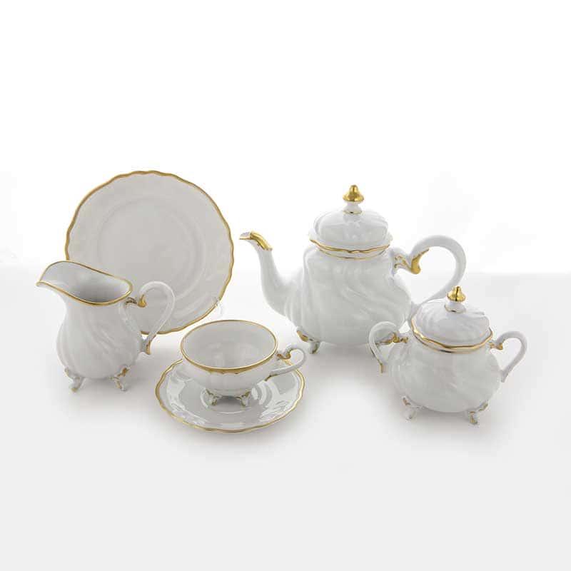 Элеганс Сервиз чайный Weimar 210 мл. на 6 перс. 21 пред.
