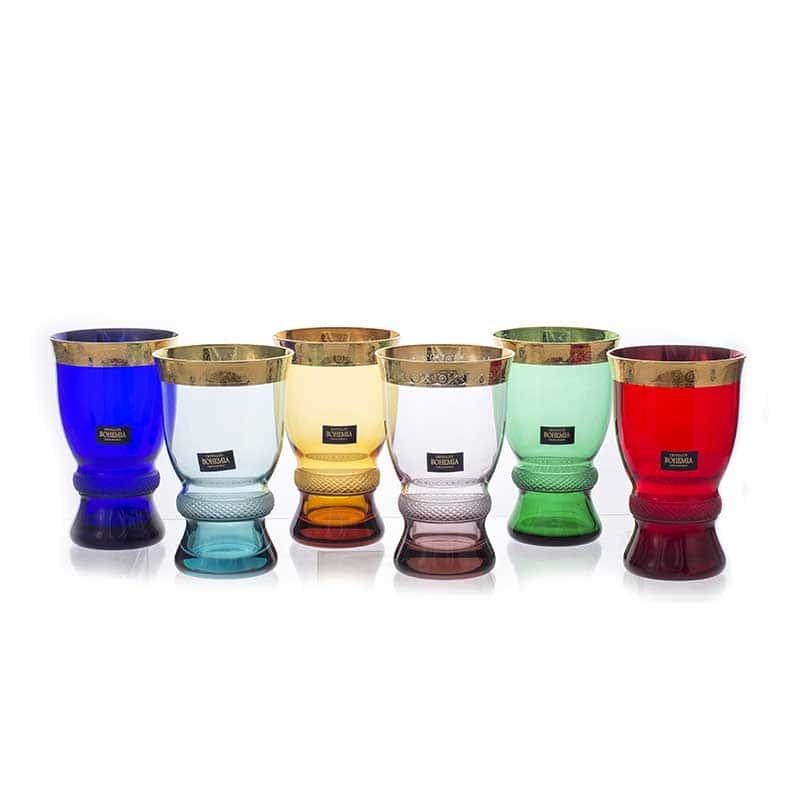 Джесси Колорс Набор стаканов Crystalite 250 мл. 6 шт