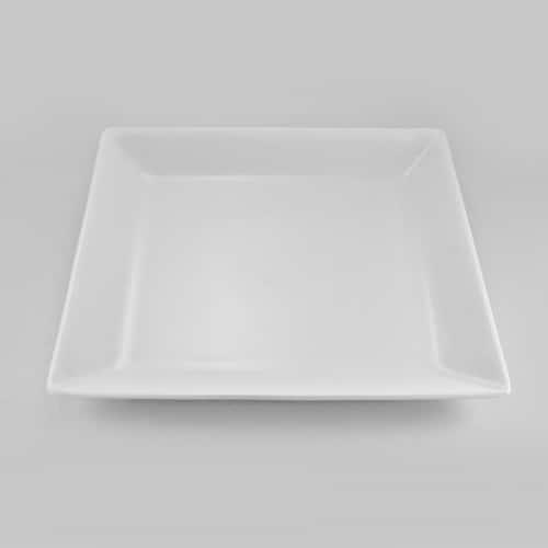 Эксквизит Квадратная тарелка Никко 25 см из фарфора Япония