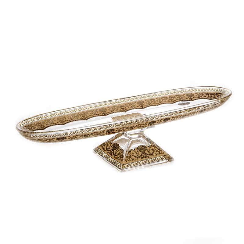 Империя Ваза для фруктов Astra Gold овальная 41х11,5 см.