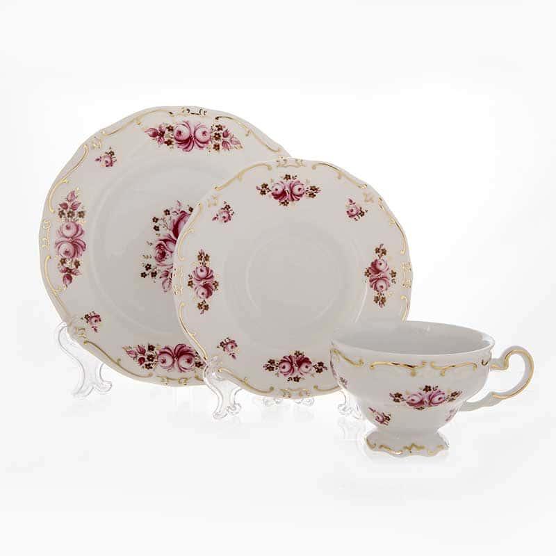 Роза Набор чайный Weimar 6 перс. 18 пред. подарочный