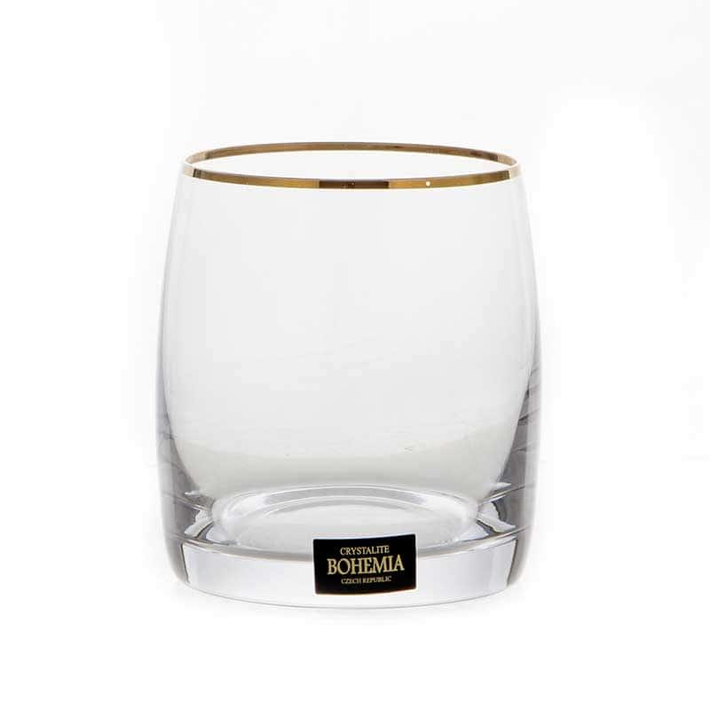 Идеал 230116 Набор стаканов для виски Crystalite 290 мл. 6 шт.