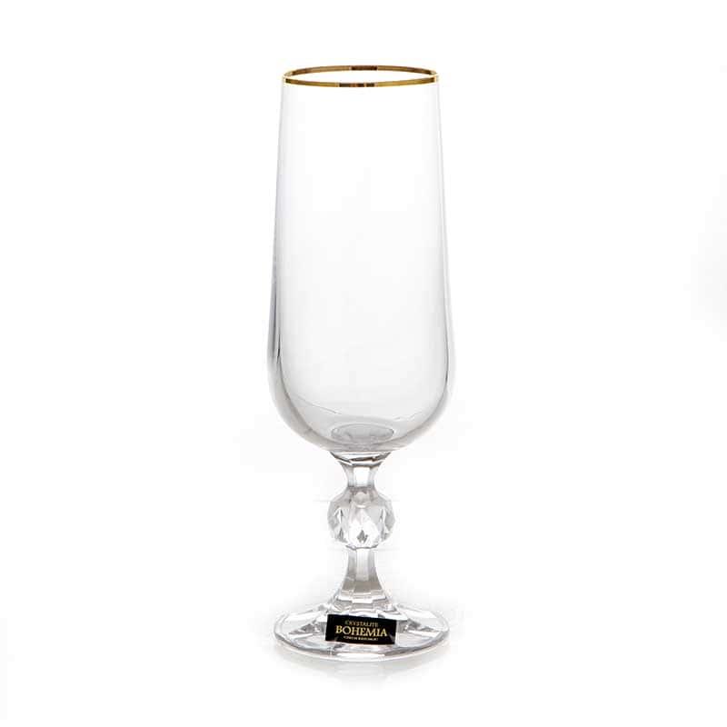 Клаудия 230116 Набор для шампанского Crystalite 180 мл. 6 шт.