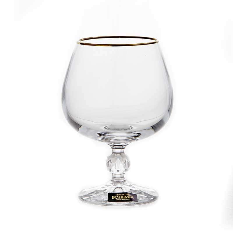 Клаудия 230116 Набор бокалов для бренди Crystalite 250 мл. 6 шт.