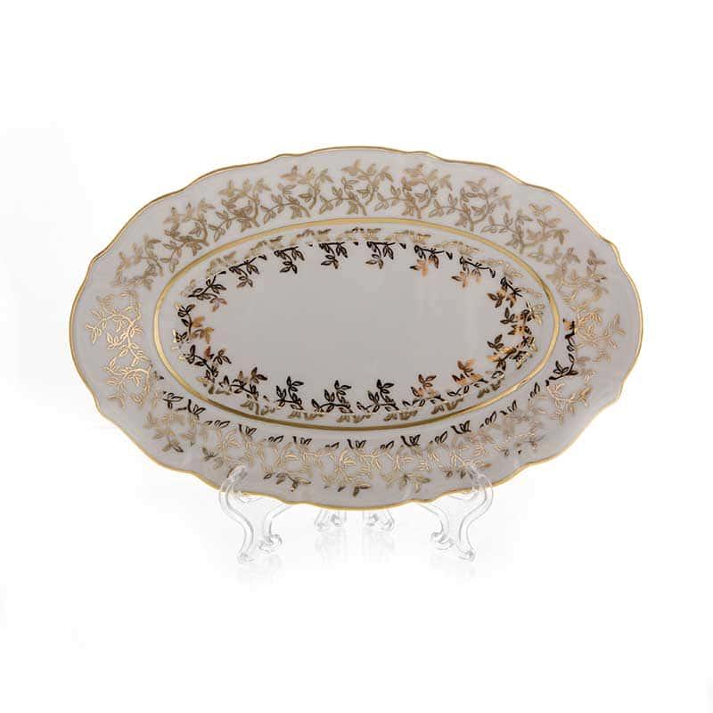 Лист белый Селедочница Bavarian Porcelain 24 см.