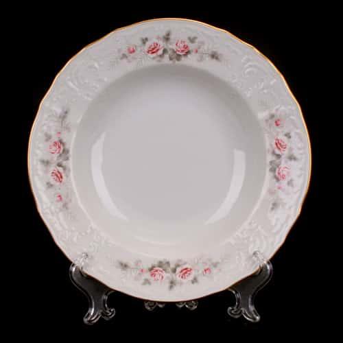 Роза серая 5396011 Набор глубоких тарелок Bernadotte 23 см. 6 шт.