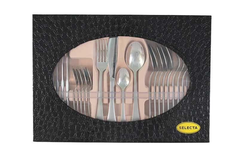 Лейпциг серебро Набор столовых приборов 24 предмета на 6 персон Selecta из Китая