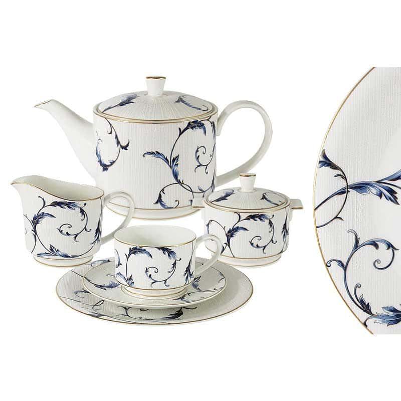 Элегия Чайный сервиз 21 предмет на 6 персон Эмили (Emily) из Китая