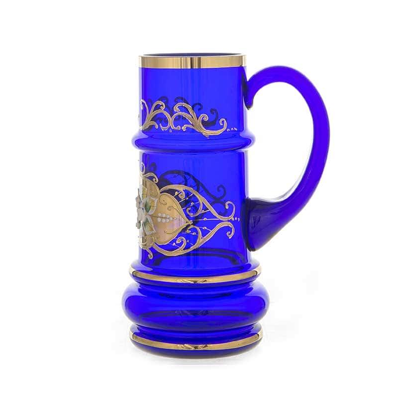 Лепка синяя Кружка для пива Union Glass 0,5 л.