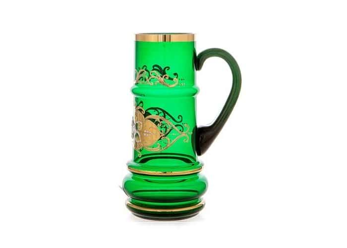 Лепка зеленая Кружка для пива Union Glass 0,5 л.