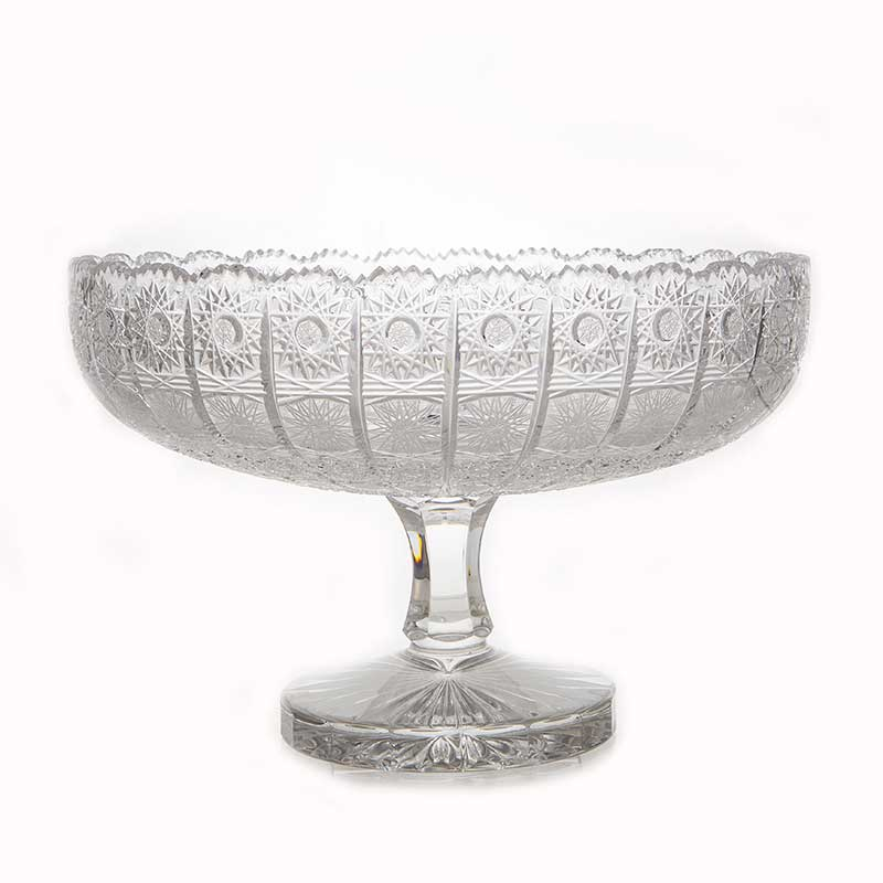 Хрусталь 63040 Ваза для фруктов н/н Glasspo 30,5 см.