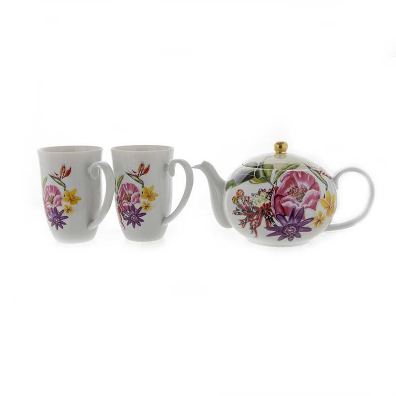 Веймар Парадиз Набор для чая из 3 предметов Германия