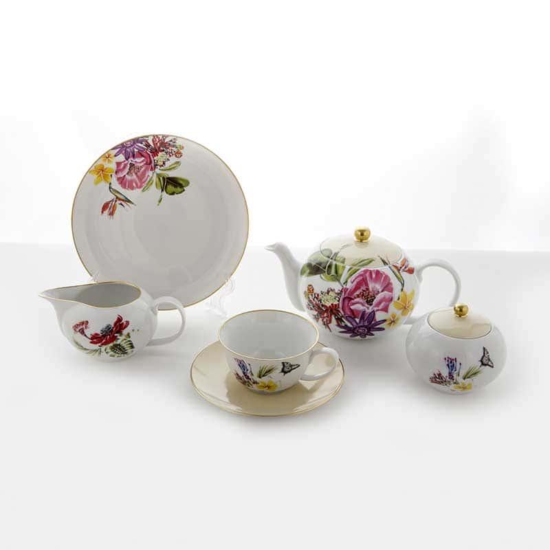 Веймар Парадиз Набор для чая на 6 персон 21 предмет